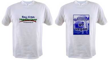 BAV and Go Vegan T-shirts
