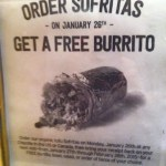Chipotle Mexican Grill: Order Sofritas, Get a Free Burrito!