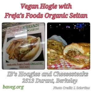 Vegan Hoagie with Freja's Foods Organic Seitan