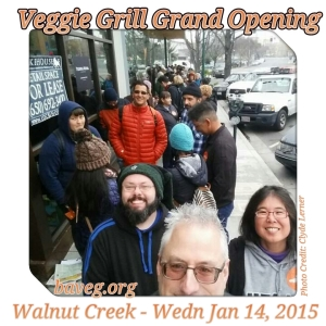 Veggie Grill Grand Opening - Walnut Creek