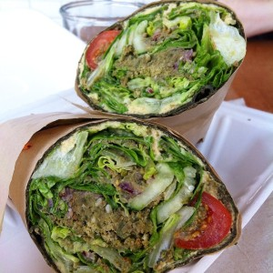 Falafel Wrap  (photo credit: Brandi Woods)