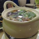 One of two soups we selected at Green Papaya, Berkeley