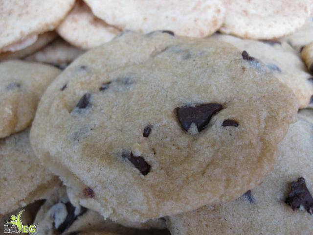 Secrets of Vegan Baking chocolate chip cookie