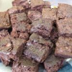 Brownies (they did not taste out of focus at all)