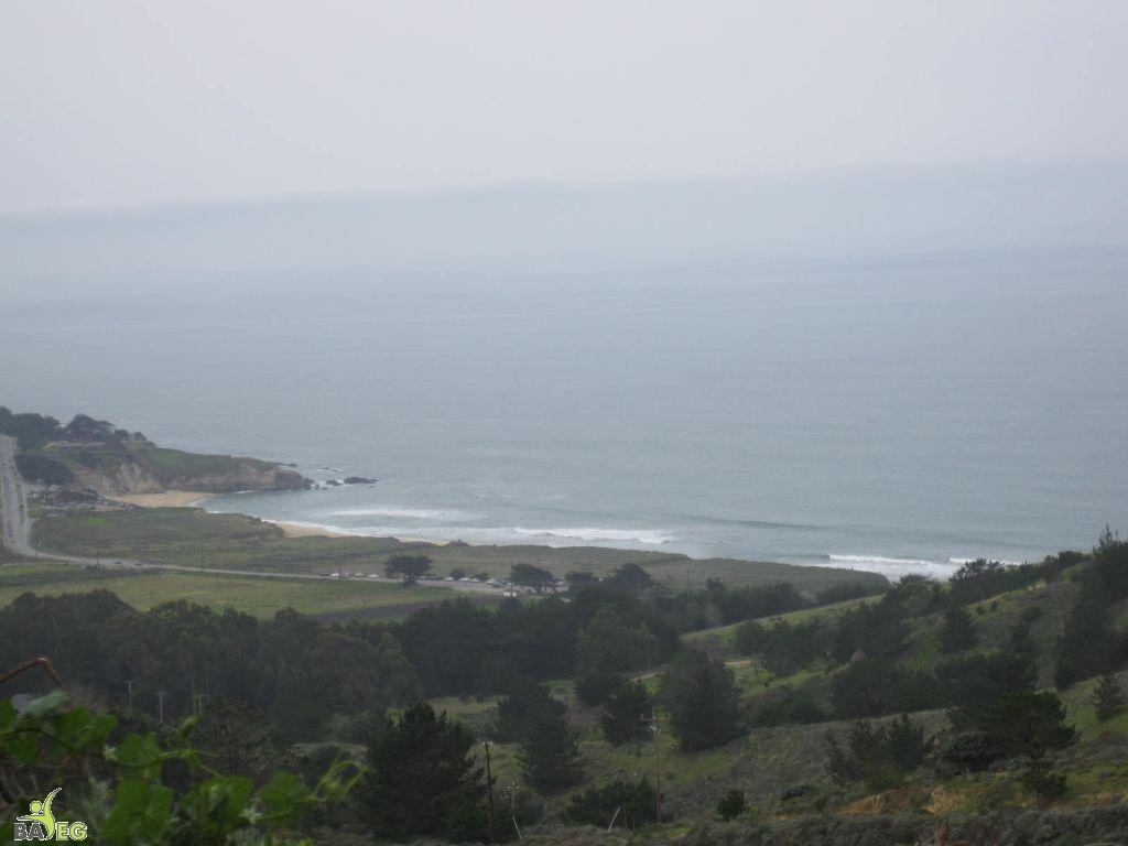 Great view .. going all the way up, then all the way back down to Montara State Beach shown below