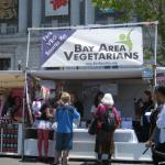 Lots of interest throughout the day at the BAVeg booth