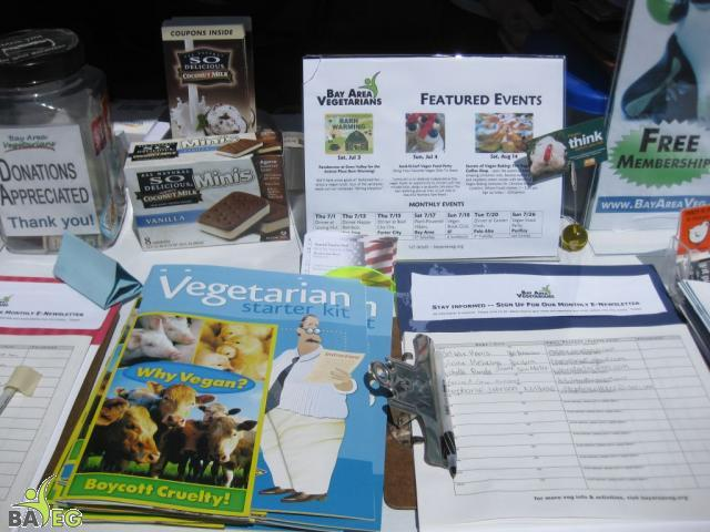 Our Veg Starter Kit = PCRM's Veg Starter Guide + Vegan Outreach's Why Vegan (Thank you to PCRM and Vegan Outreach for their cont