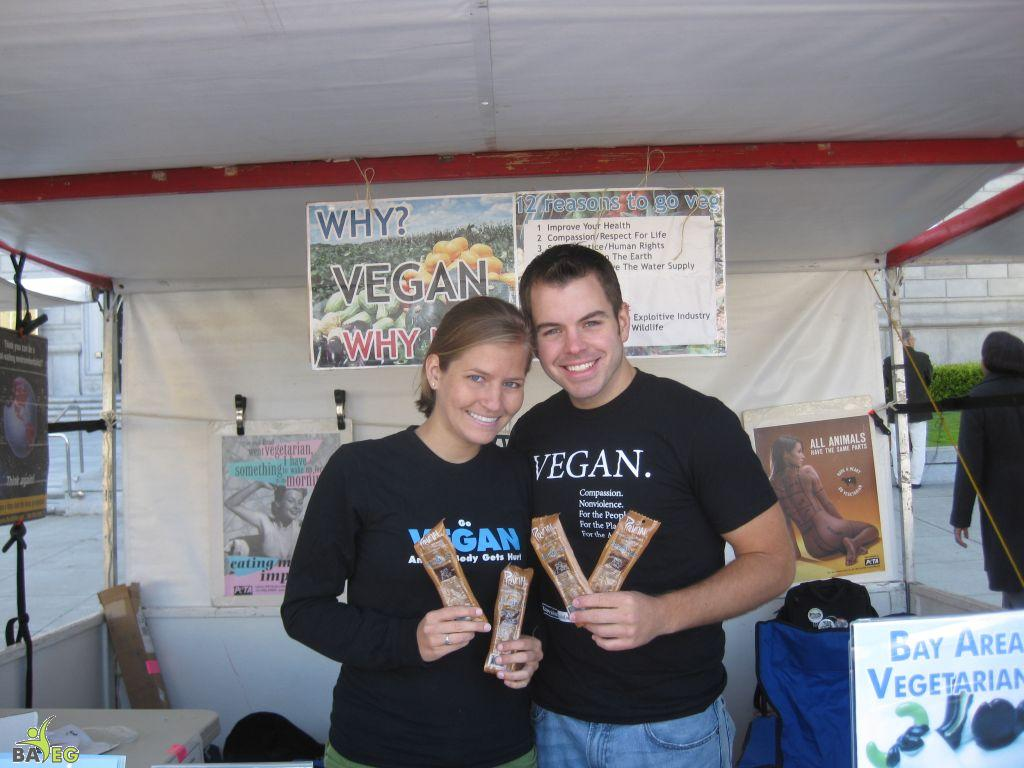 Primal Strips donated some yummy vegan jerky