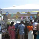 BAVeg booth at the JCNC 10th Anniversary celebration