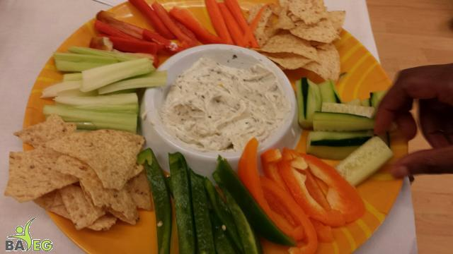 Dip with Fresh Veggies