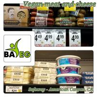 Vegan Meat and Cheese at Safeway
