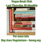 Vegan Book Club - Last Thursday of the Month - Vallejo