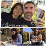 600 leaflets distributed at Solano Community College!