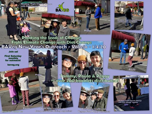 New Year Outreach at Vallejo Farmer's Market