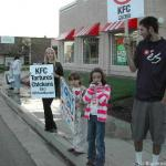 Monthly KFC Demo in Santa Cruz - Oct 2004 - see event calendar for upcoming schedule (usually 1st Sat.)