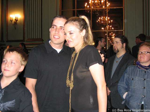 Gabe Q and Alicia Silverstone