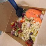 Part of Saturday's lunch, rice salad to go