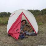 Lori and tent-mate Nami