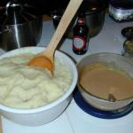 mashed potatoes & gravy (of course)