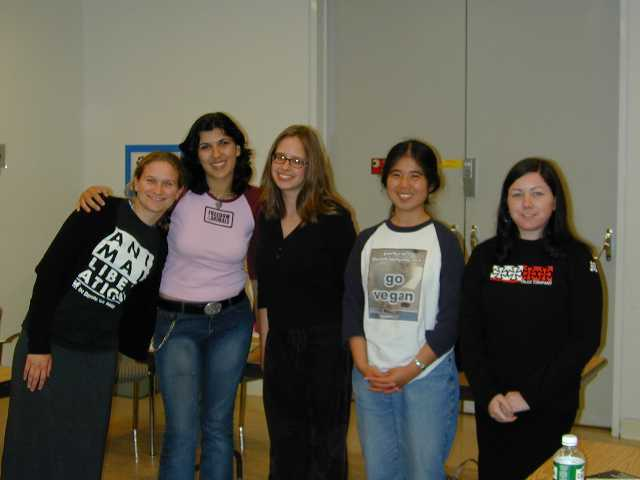 AR 101 volunteer speakers & organizers (l to r): Nora, Carla, Erin, Tammy and Chrstine.  Not pictured:  Chris