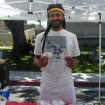 Raga Soul food vendor at Berkeley Farmers Market