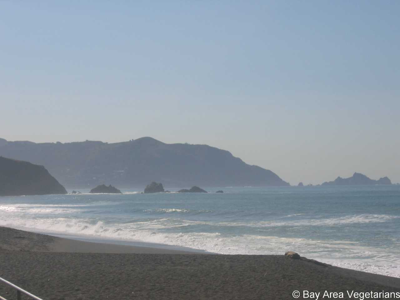 Beautiful Sharp Park Beach in Pacifica