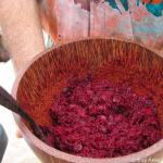 Raw Ginger beet salad