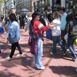 Have a Heart, GO VEG LEAFLETING April 2008