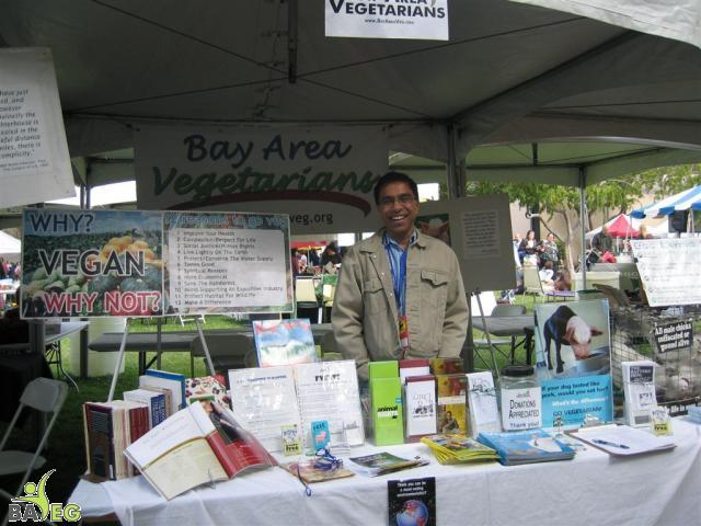 Ravi spreads the compassionate message of veganism!