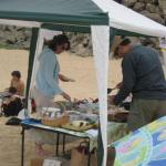 Sand-n-Surf Vegan Food Party, Montara State Beach