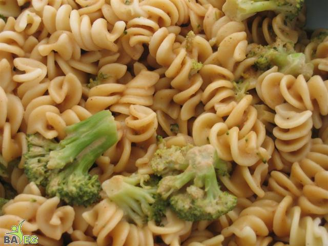 Peanut & Broccoli Pasta