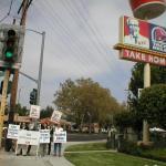 KFC Cruelty Protest