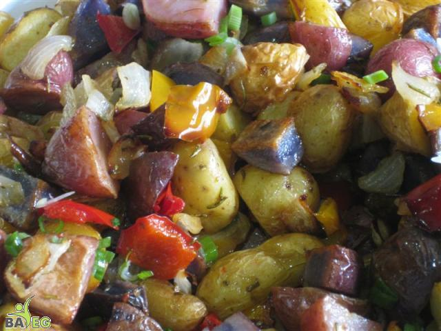 Roasted Potato Salad